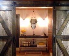 Premium 3 Inch Rollover Barn Door Hardware