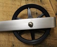 Rebarn - Sliding Barn Doors - Toronto - Barn Door Hardware - 6 Inch Carriage House Stainless Finish