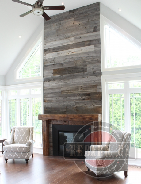 Barn-Beam-Mantel-With-Corbels-And-Barnboard