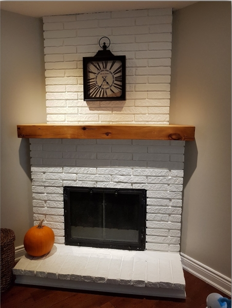 Custom Hollow Out Mantel