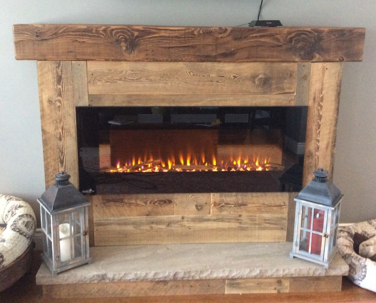 Barn-Beam-Mantel