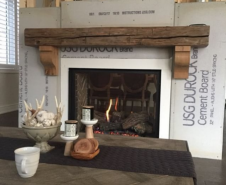 Mantel With Corbels