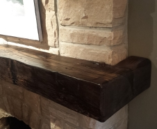 Wrap-Around-Barn-Beam-Mantel