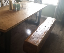 Hemlock-Barn-Beam-Bench