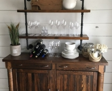 Buffet and Shelf