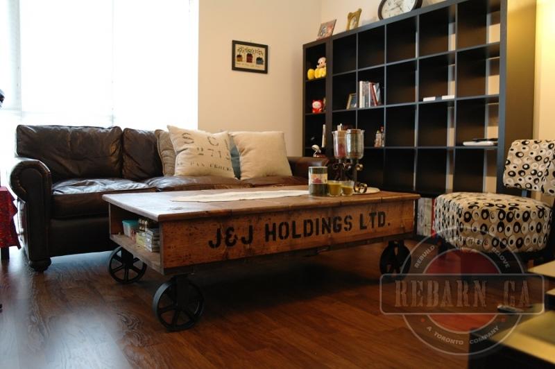 Custom furniture rebarn toronto sliding barn doors for Living room chairs on wheels