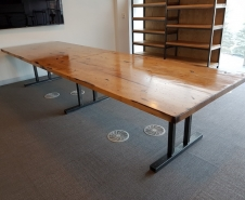 BMW Maple Table