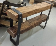 Barn-Beam-Console-Table