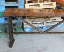 Barn-Board-Console-Table