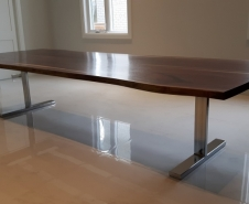 Walnut Live Edge Table Twelve Foot