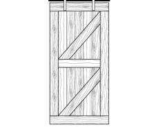 Rebarn-Doors-S-Brace