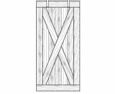 Rebarn-Doors-X-Brace