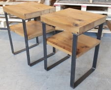 Threshing Board End Tables