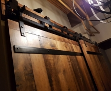Full-Bypass-Barn-Door-Hardware-Premium-Artisan Series