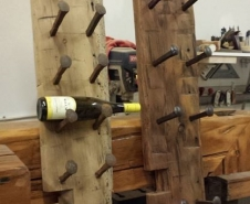 Antique-Beam-Skin-Wine-Racks