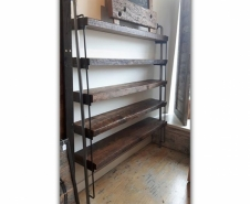Threshing Board and Iron Shelves