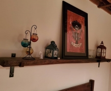Barn Beam Shelf