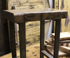 Barn-Beam-Skin-Table-Top-With-Metal-Legs