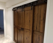 Bypass Barn Doors (Ceiling Mounted)