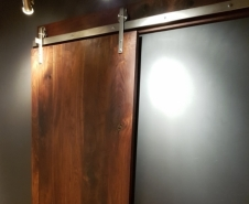 Solid Walnut Panel
