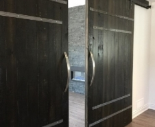 Barrel Strap Byparting Doors