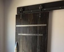Barrel Strap Door