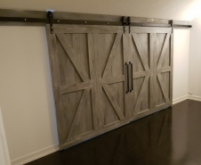 Byparting Barn Doors