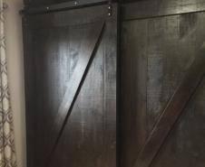 Bypass Z Braced Barn Doors
