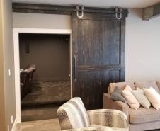 Shaker Style Barn Door