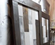 Quilt Work Doors