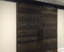 Byparting Contemporary Barn Doors