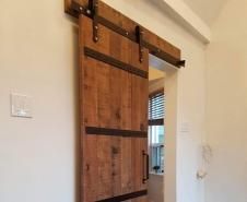 Medieval Barn Door