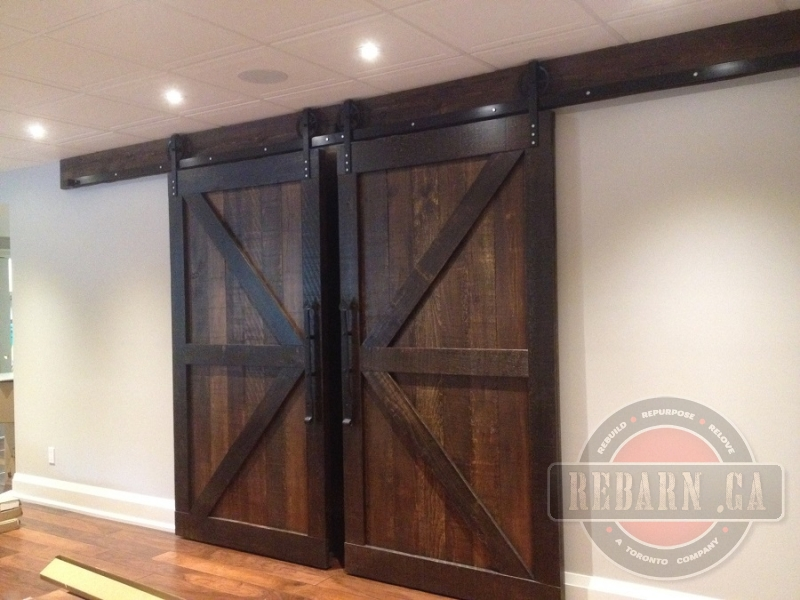 Sliding Barn Doors August 2015