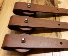 Hinge Strap Barn Door Hardware