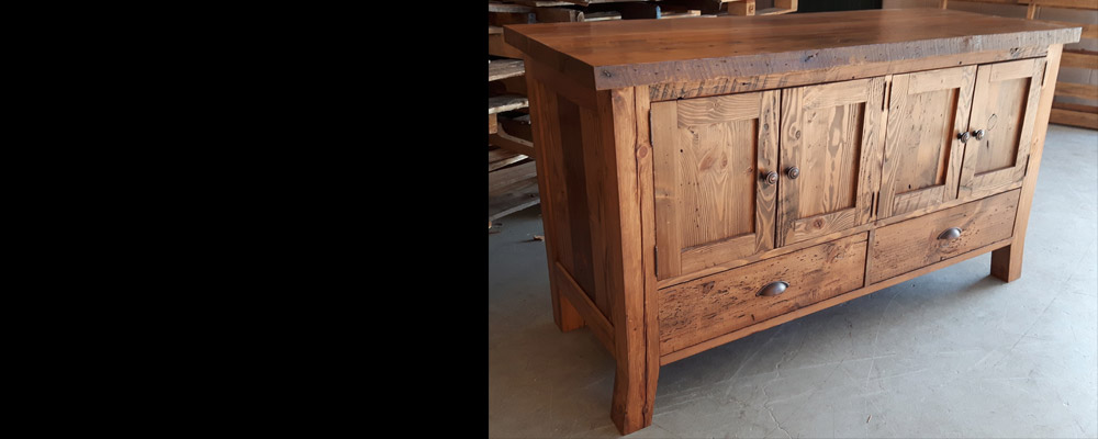 View the Rebarn, Toronto Salvaged Wood Custom Furniture Gallery