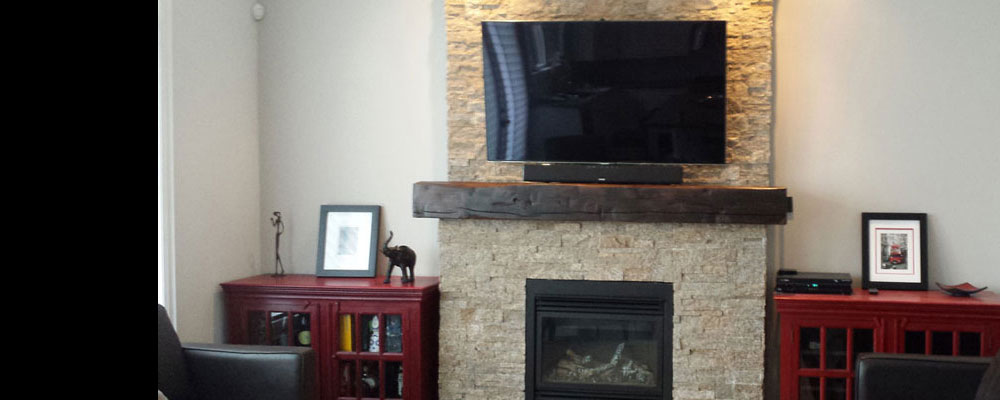 View the Rebarn Barn Beam Mantels Gallery, Toronto