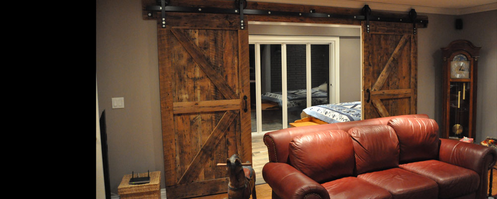 View the Rebarn Sliding Barn Door Gallery, Toronto