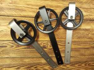 Barn Door Hardware Six Inch Stainless Steel Powder Coat Combo 8