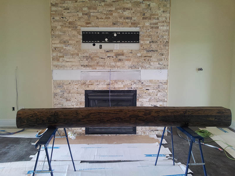 Barn Beam Mantels 72