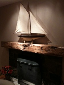 MANTLE WOOD BEAM 2