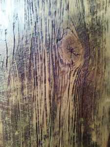 Rebarn Ponderosa Finish On Red Barn Board