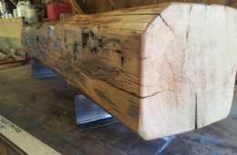 Contemporary-Barn-Beam-TV-Stand-Bench-8