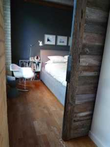 Contemporary Barn Door Gothom Lofts Toronto 12