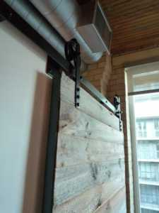 Contemporary Barn Door Gothom Lofts Toronto 13