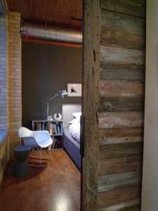 Contemporary Barn Door Gothom Lofts Toronto 2