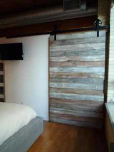 Contemporary Barn Door Gothom Lofts Toronto 3