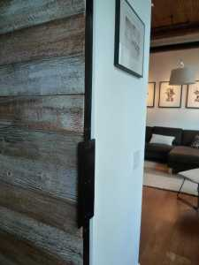Contemporary Barn Door Gothom Lofts Toronto 6