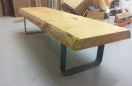 Live-Edge-Pine-Slab-Coffee-Table-4