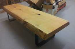 Live-Edge-Pine-Slab-Coffee-Table-5