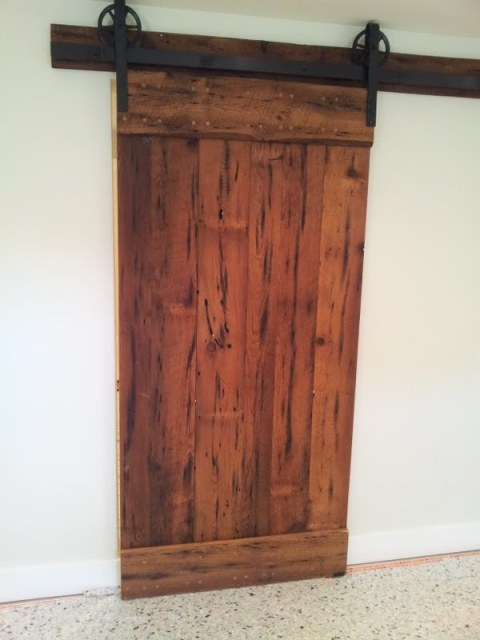 Rustic Barn Door!  Rebarn, Toronto, Sliding Barn Doors. Garage Floor Roll. Home Depot Garage Door Openers. Doggie Door. Garage Door Parts Menards. French Door Refrigerator On Sale. Garage Paint Colors. White Bookcases With Doors. Doggie Door For French Doors